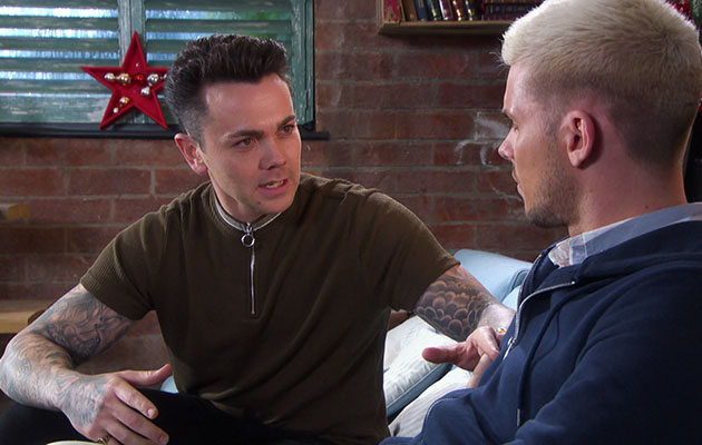 Hollyoaks Jonny and ste Ray Quinn