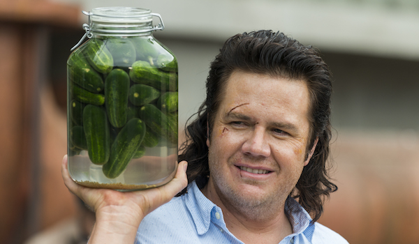 the walking dead eugene and his pickles