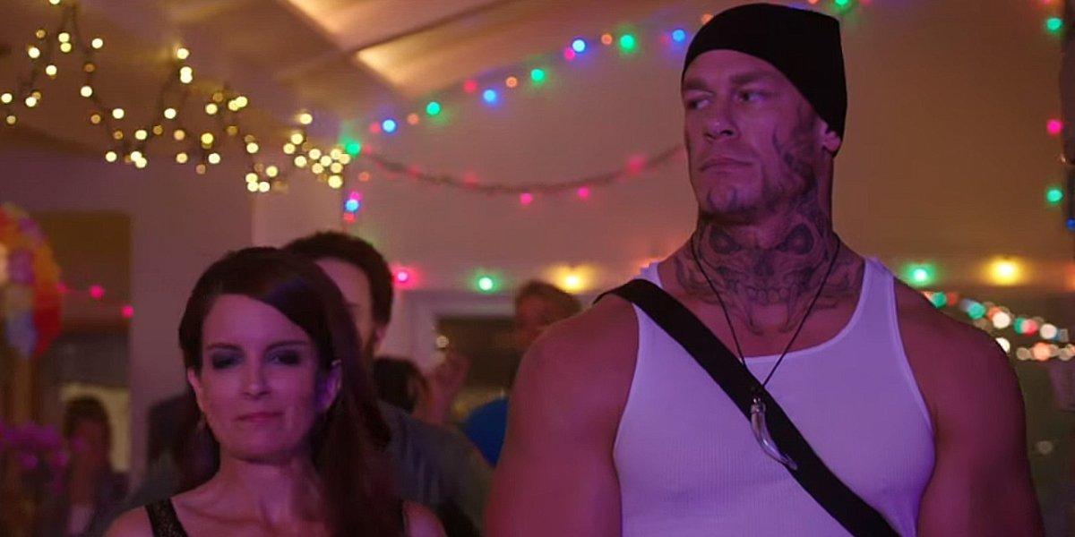 Tina Fey and John Cena in Sisters