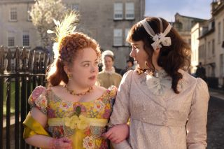 Penelope and Eloise in Bridgerton