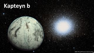 Potentially Habitable World Kapteyn b