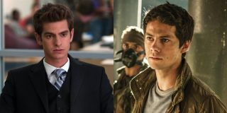 Andrew Garfield and Dylan O'brien in Social Network and Maze Runner