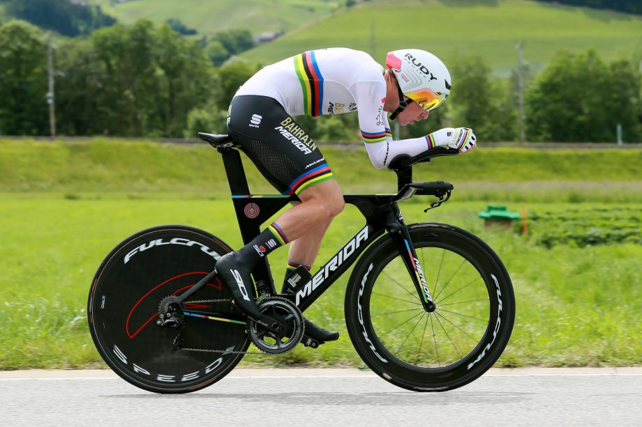 Rohan Dennis wins stage one time trial by smallest of margins at the Tour de Suisse 2019
