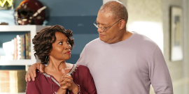 Black-ish Star Jenifer Lewis Hypes The 'Amazing' Old-ish Spinoff With with Laurence Fishburne