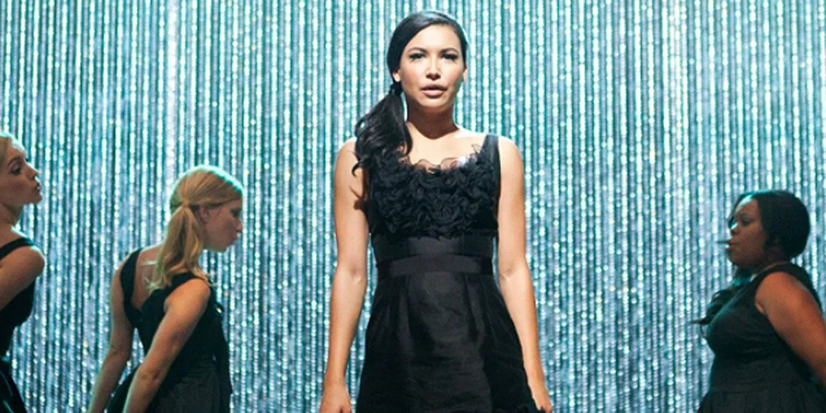 Naya Rivera in Glee before her disappearance