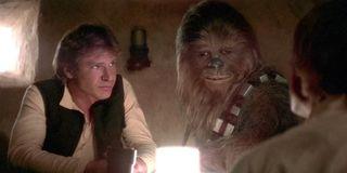 Han Solo Harrison Ford Chewbacca Star Wars A New Hope