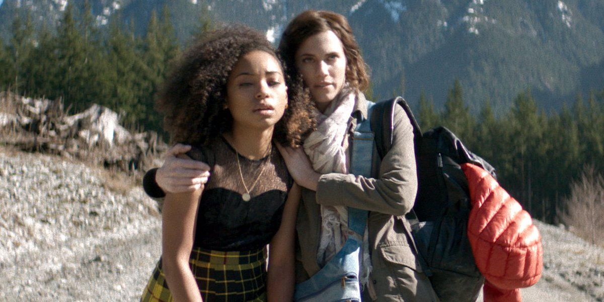 Logan Browning and Allison Williams in The Perfection