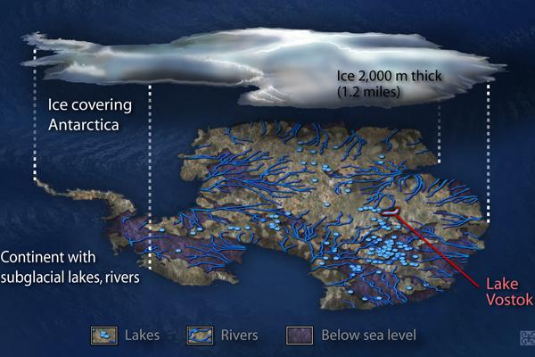 Vostok: Lake Under Antarctic Ice | Live Science