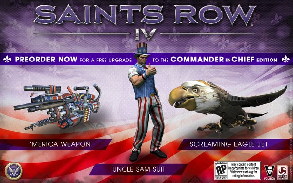 Saints Row 4 Commander in Chief Edition