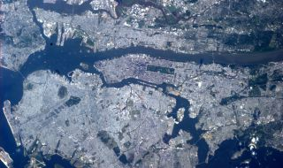 New York City as Seen from the International Space Station