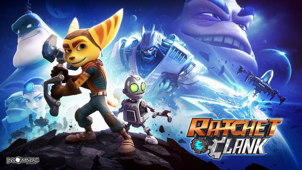 Ratchet and Clank for PS4 wallpaper