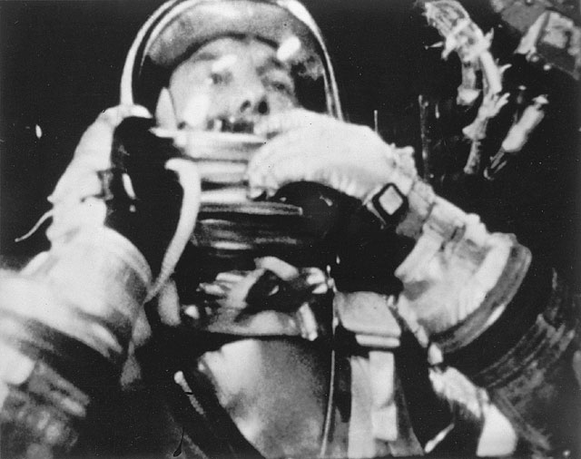 Alan Shepard became the first American in space in 1961
