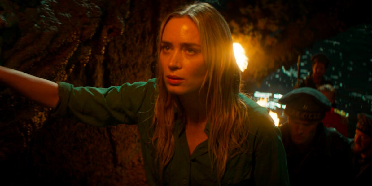 Emily Blunt as Lily in Jungle Cruise