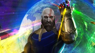 God of War infinity Gauntlet
