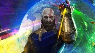 God of War infinity Gauntlet