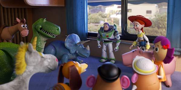 Toy Story 4 , Buzz Lightyear and Jessie
