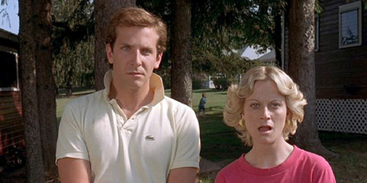 Bradley Cooper and Amy Poehler in Wet Hot American Summer