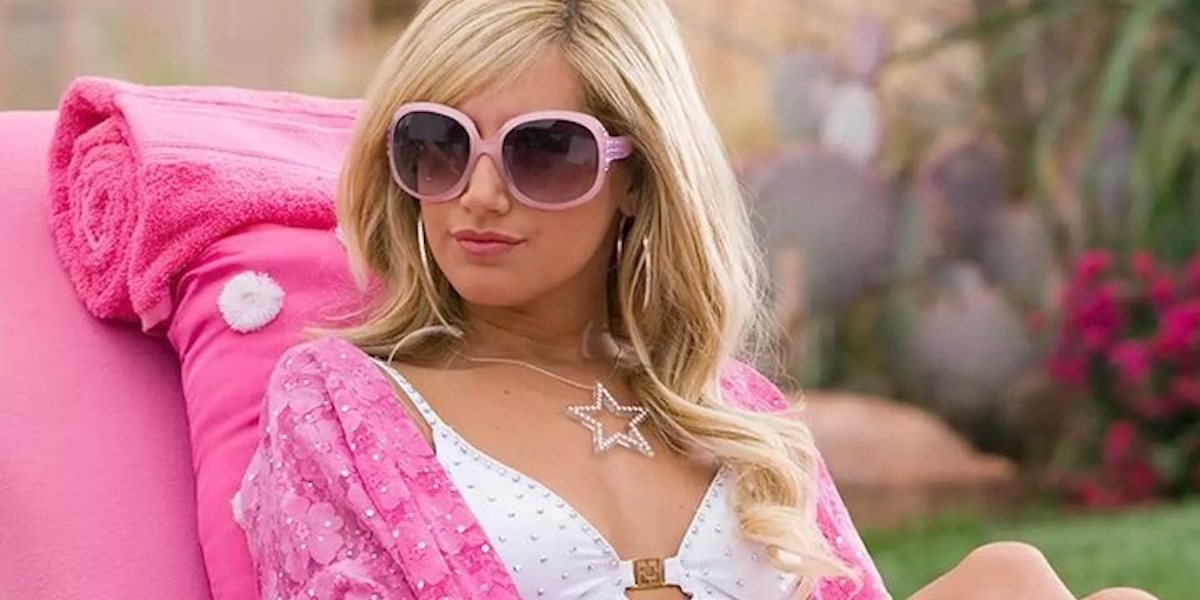Ashley Tisdale as Sharpay Evans in Fabulous song in High School Musical 2