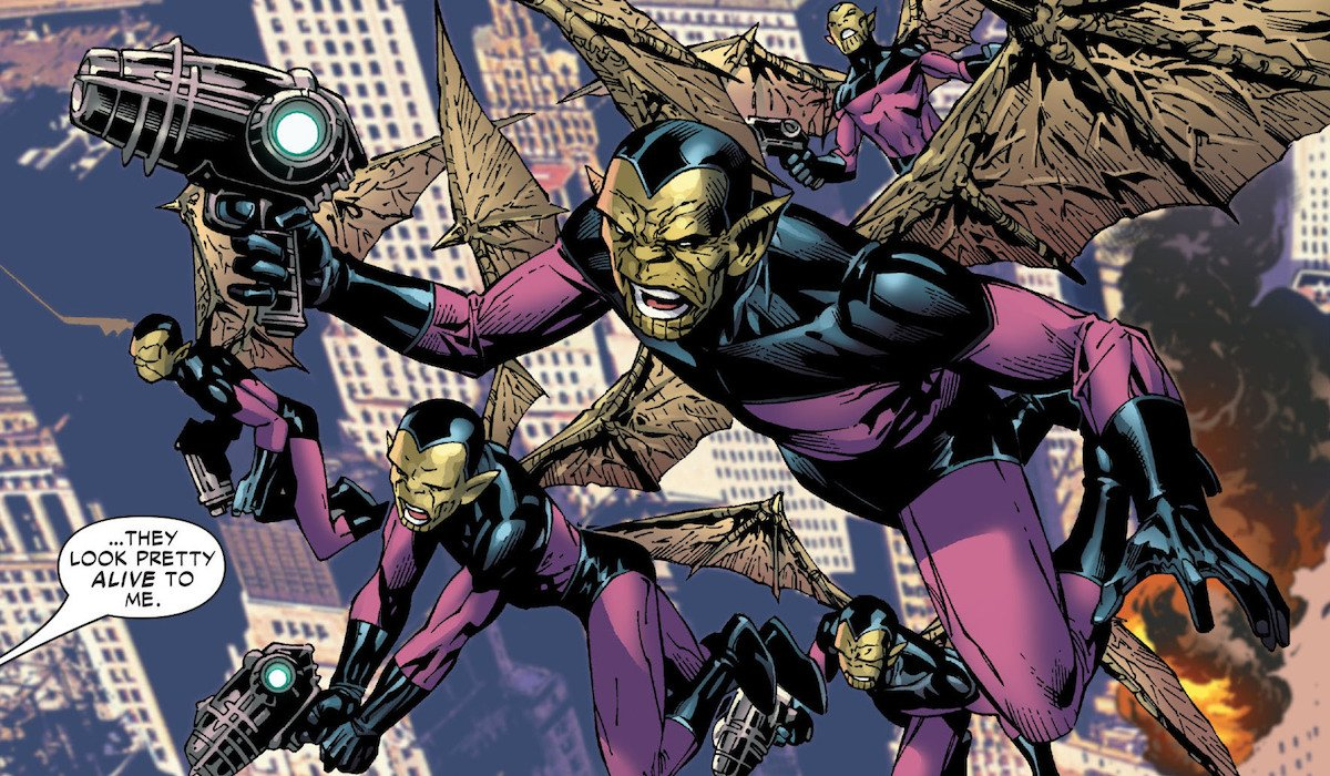 Skrulls Marvel Comics
