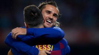 Griezmann Messi Barcelona
