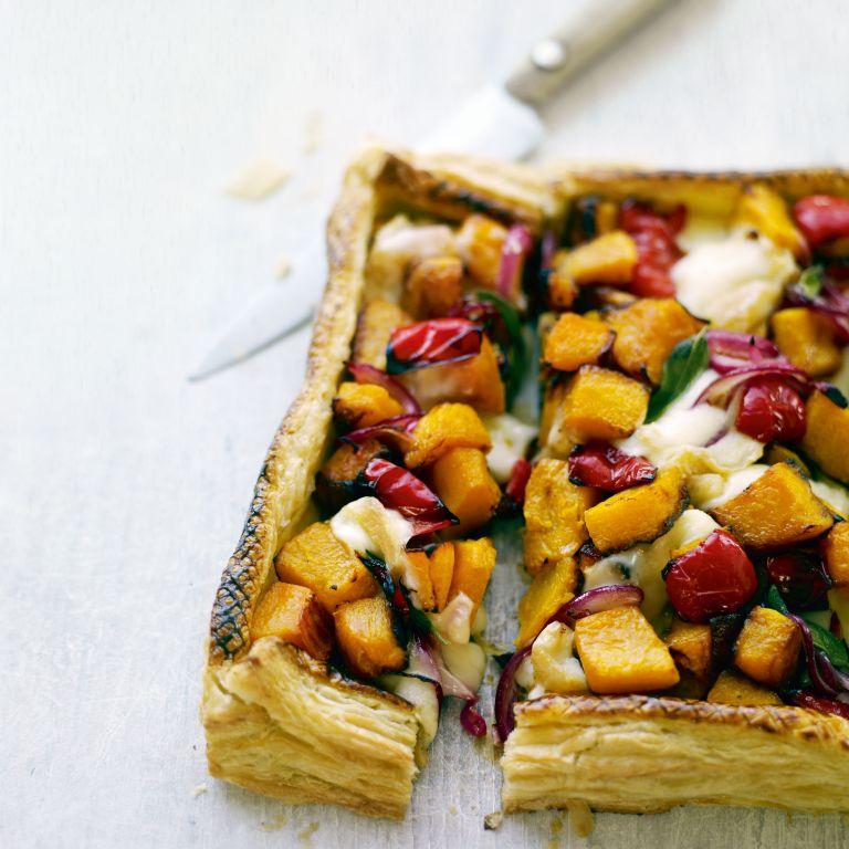 Squash, Sage and Taleggio Tart Recipe-tart recipes-recipe ideas-new recipes-woman and home