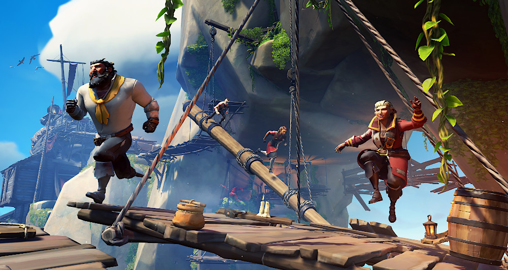 Xbox Series X review - Sea of Thieves