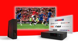Virgin Media's flash broadband deal: get a free 43-inch 4K