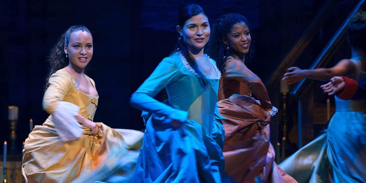 The Schuyler Sisters in Hamilton