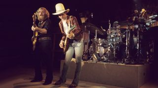 ZZ Top perform live in 1973