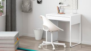 Best desk for small spaces: IKEA Micke