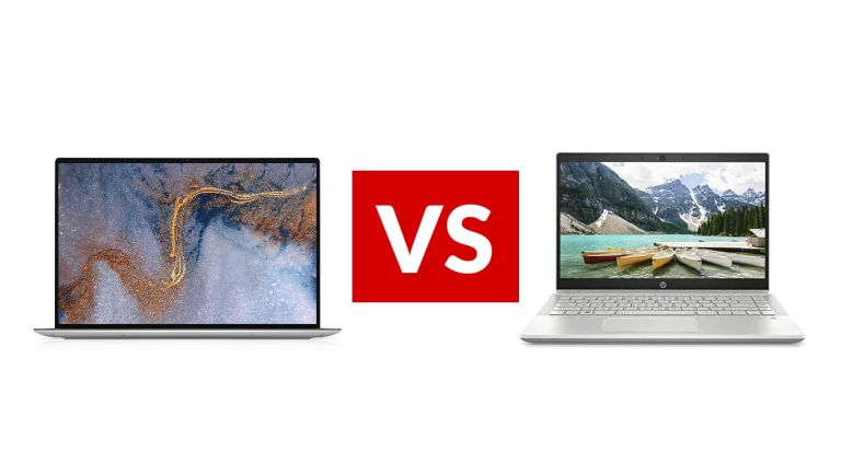 HP Pavilion 14 vs Dell XPS 13 2020
