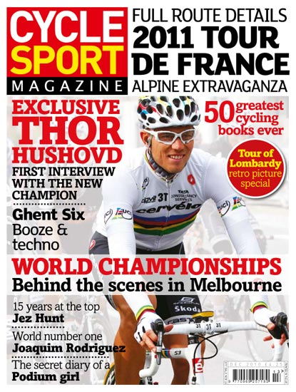 Cycle Sport December 2010 cover