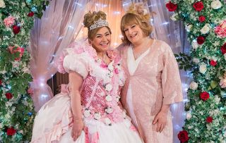 Myra McQueen and Sally St Claire