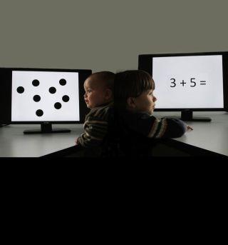 Baby and child math skills test