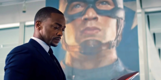Anthony Mackie as Sam Wilson in 'The Falcon and the Winter Soldier.'
