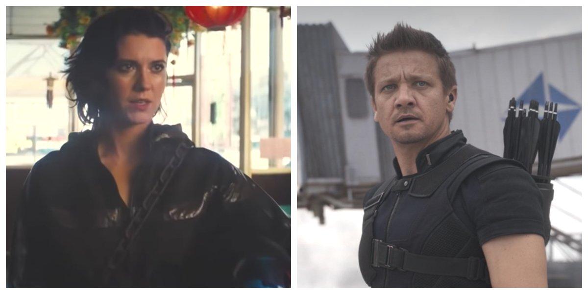 Mary Elizabeth Winstead in Birds Of Prey and Jeremy Renner in Captain America: Civil War