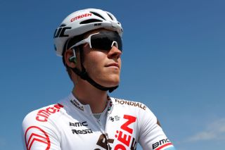 Bob Jungels (AG2R Citroën) at the start of the Amstel Gold Race