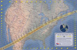 A total solar eclipse will be visible on April 8, 2024, over Mexico, the United States and Canada.