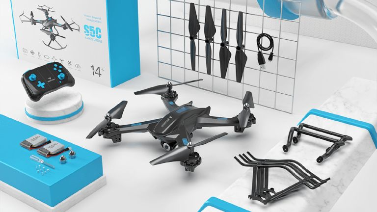 Snaptain S5C drone review