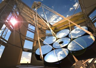 The Giant Magellan Telescope: Artist's View