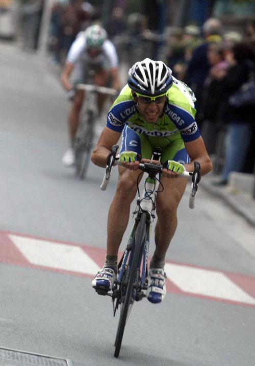 Nibali attack, Milan-San Remo 2010