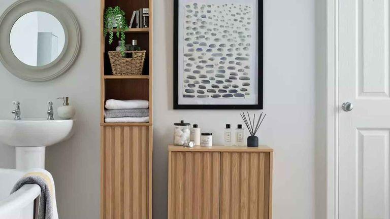 Argos Home Inhabit Double Unit in bathroom