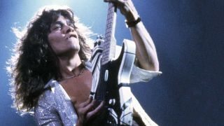Eddie Van Halen onstage