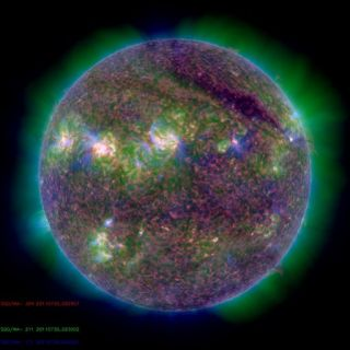 M-Class Solar Flare Solar Dynamics Observatory