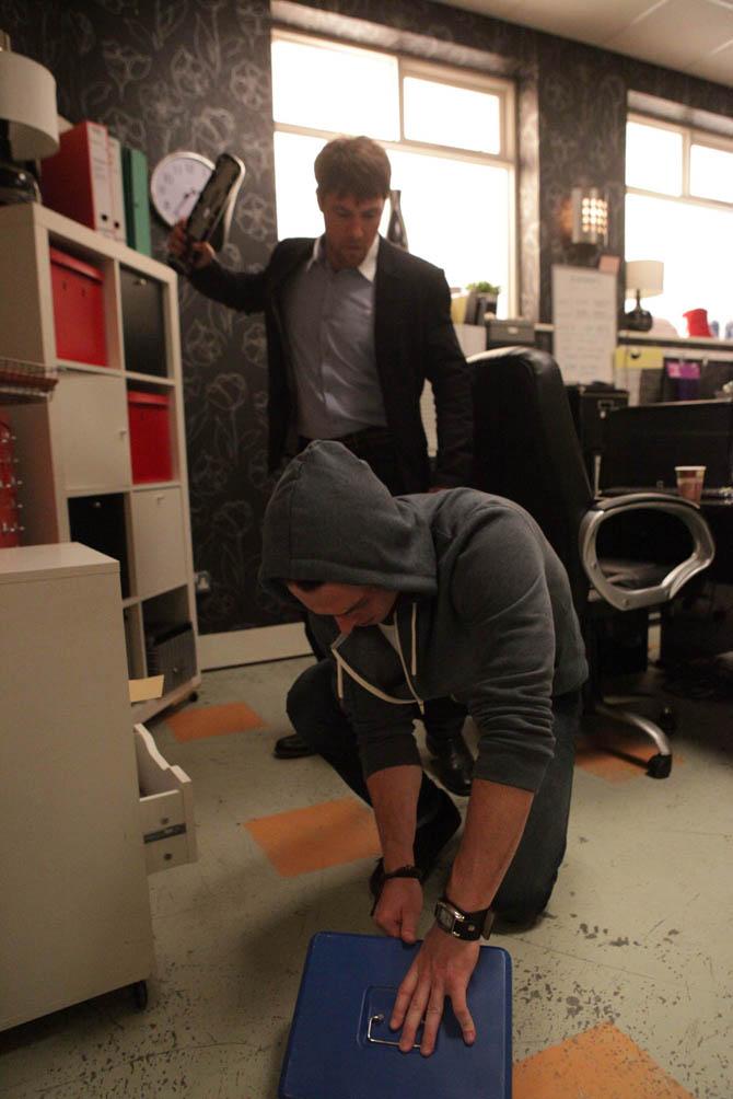 Rob attacks a desperate Ryan!