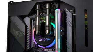 Zadak MOAB II PC case with integrated CPU water block