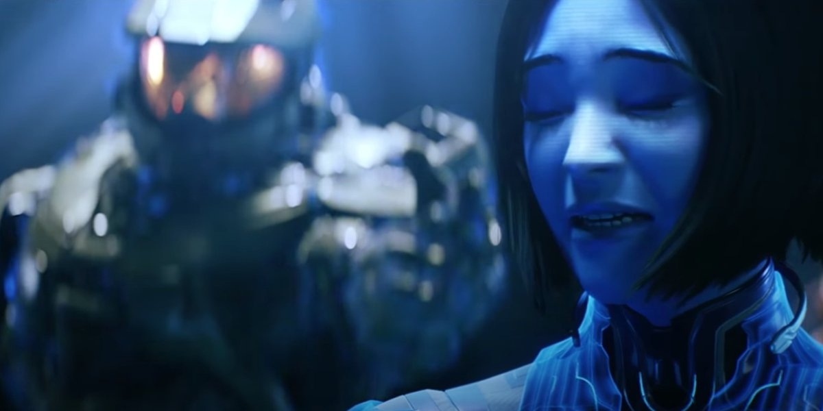 Master Chief and Cortana in Halo 5
