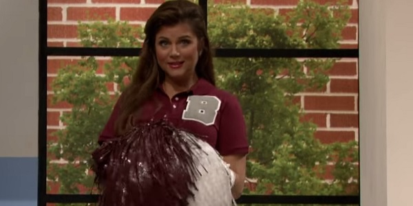 Tiffani Thiessen The Tonight Show With Jimmy Fallon NBC