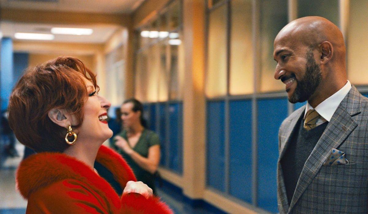 Meryl Streep and Keegan-Michael Key in The Prom