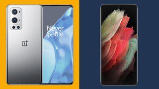 OnePlus 9 Pro vs Samsung Galaxy S21 Ultra